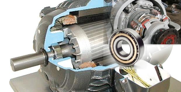 Kerusakan laher bearing dinamo pompa air