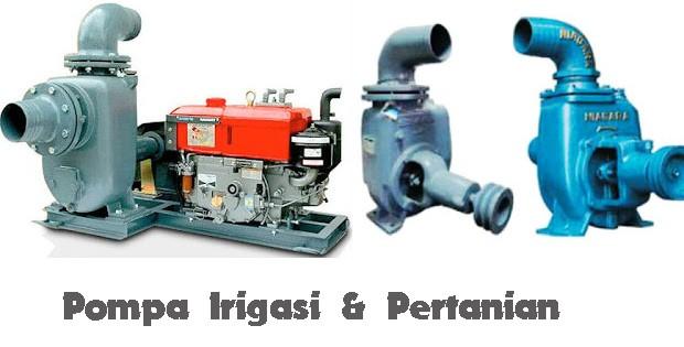 Jenis mesin pompa air disel solar untuk irigasi dan pertanian