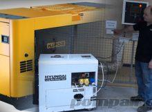Merawat mesin generator listrik tenaga disel